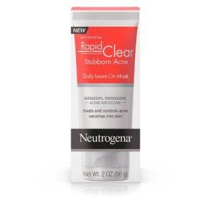 Neutrogena Rapid Clear Stubborn Acne Daily Leave-on Mask 2oz/56g