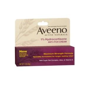 AveenoActive Naturals 1% Hydrocortisone Anti-Itch Cream 1.0oz