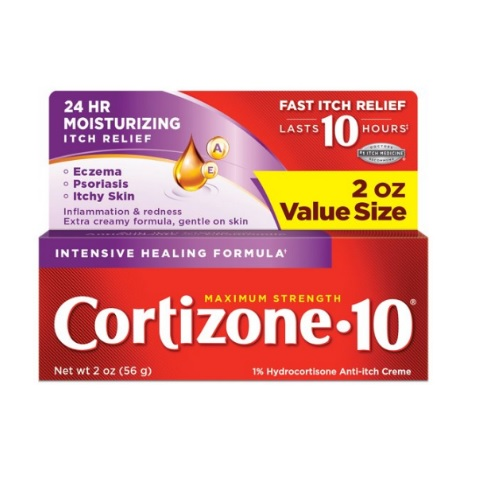 Cortizone 10 Intensive Healing Anti-Itch Creme 2oz