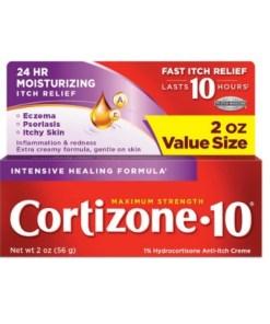 Cortizone 10 Intensive Healing Anti-Itch Creme 2oz