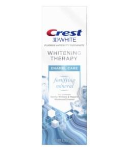 Crest 3D White Whitening Therapy Enamel Care Fluoride Toothpaste - 4.1oz