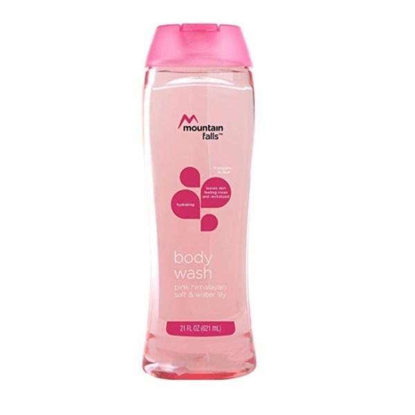 Mountain Falls Body Wash, Pink Himalayan Salt and Water Lily, 21 fl.oz/621ml