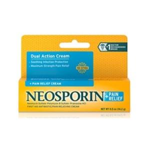 Neosporin Pain Relief + Dual Action Cream 0.5oz
