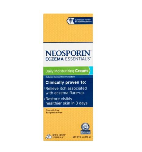 Neosporin Eczema Essentials Daily Moisturizing Cream 170g