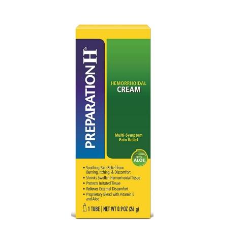 PREPARATION H Hemorrhoid Symptom Treatment Cream 1tube/26g