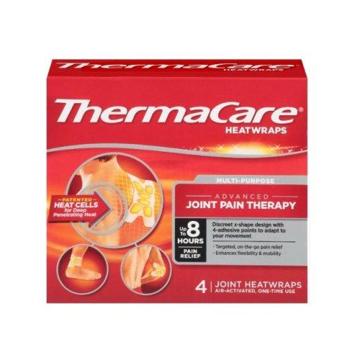 ThermaCare Heatwraps Joint Heatwraps, 4 ct