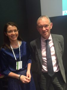 Gemma Robinson & Mick Foy at the DIA QPPV Conference