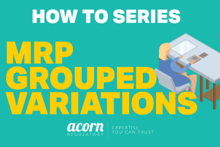 MRP Grouped Variations