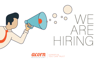 We Are Hiring at Acorn Regulatory Accountant