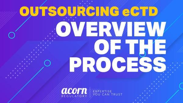 eCTD Electronic Publishing Acorn Regulatory