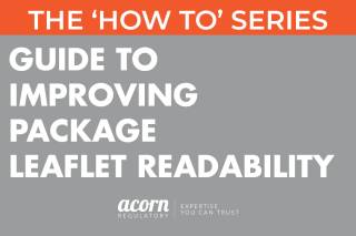 GUIDE TO IMPROVING PACKAGE LEAFLET READABILITY