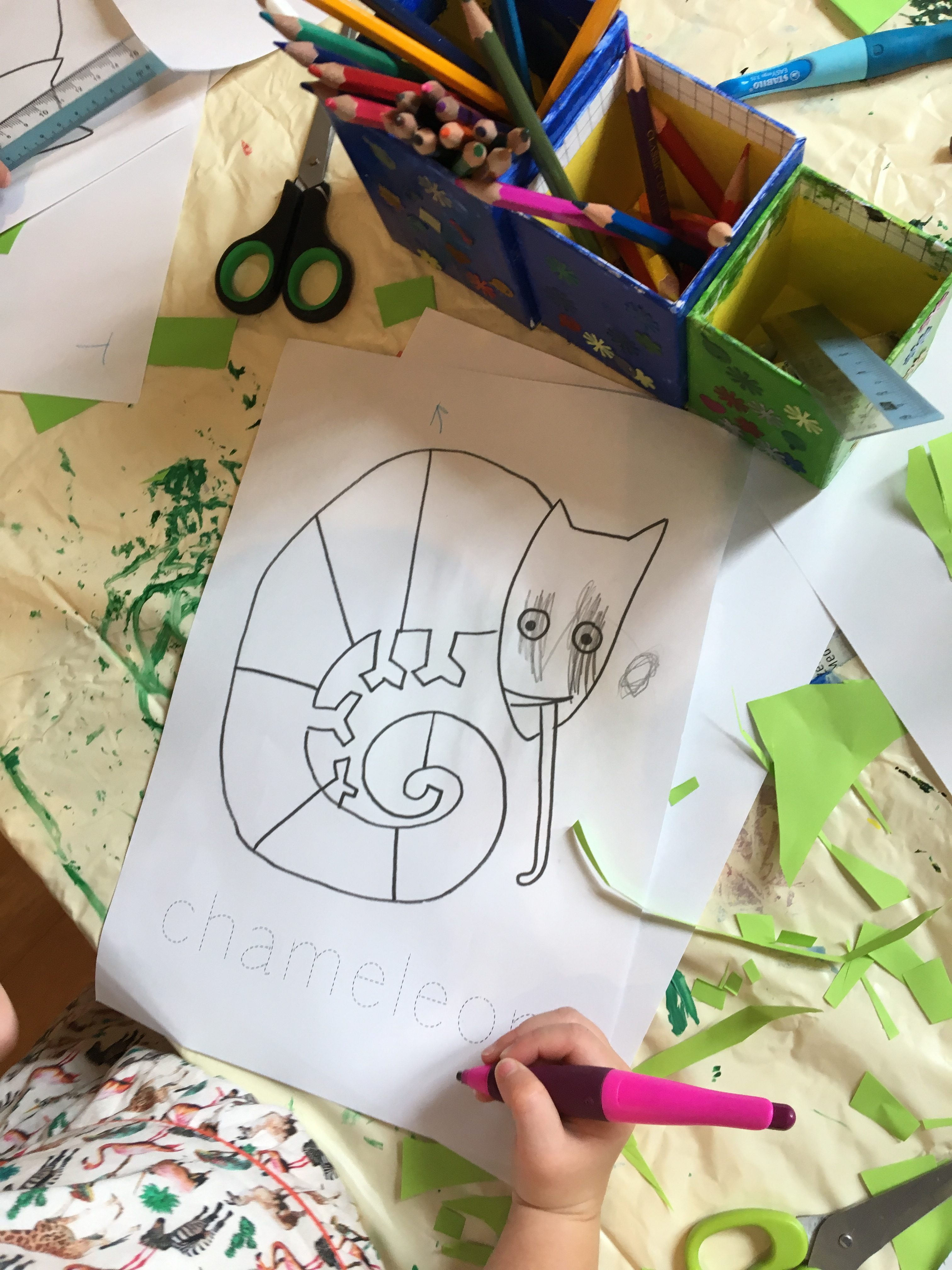English For Kids The Mixed Up Chameleon By Eric Carle