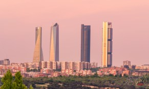 The rising of 'The Four Towers', which took place during the first decade of the 21st century, completely redefined the skyline of the city.
