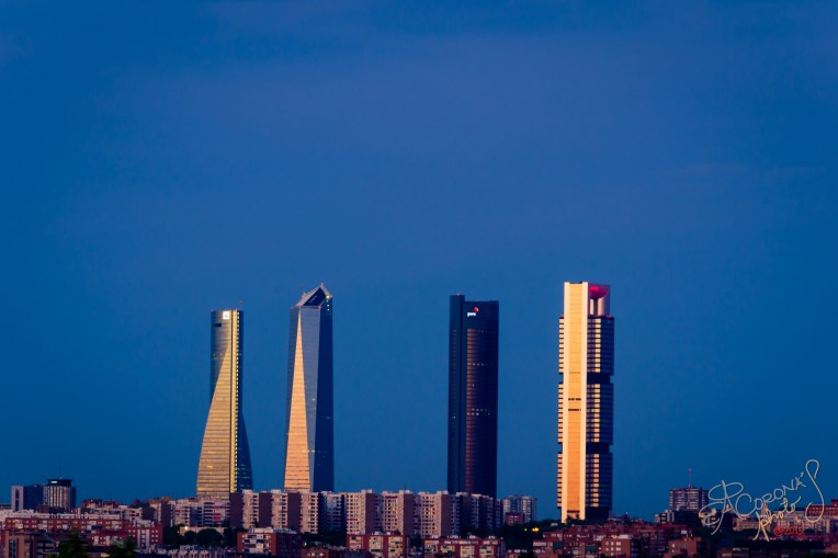 There's certainly much more to Madrid than 'The Four Towers', but no visit to Spain's vibrant capital would be complete without taking in the stunning sight of these skyscrapers coming alive in the dusk twilight.