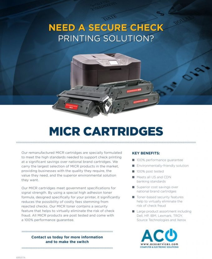 695017a Micr Aco Services Flyer Copy Aco Services