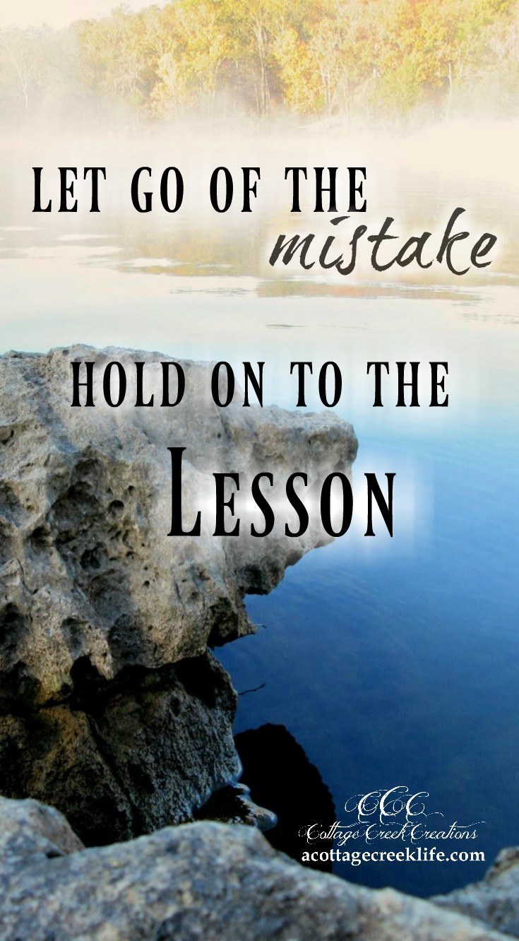 Let Go of the Mistake