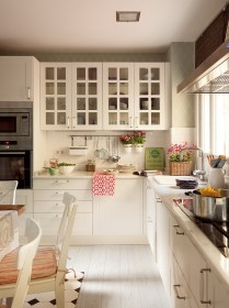 Love the open cabinets