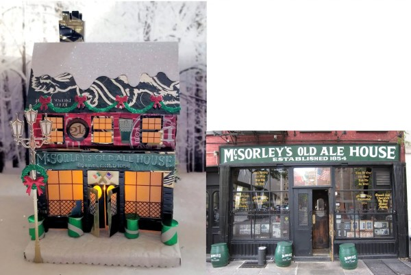 McSorley's Old Ale Pub and real building