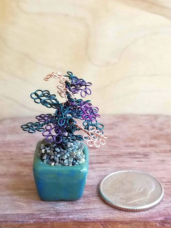 Micro Wire Bonsai Tree S7 image 4 of 7
