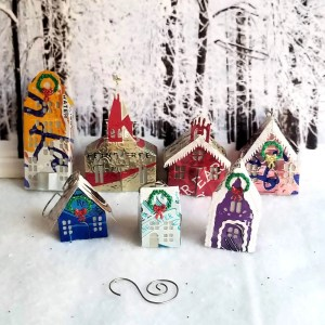 Tiny House Ornaments