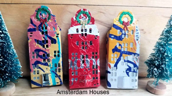 Amsterdam House Ornament