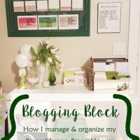 Mom Blogger Content Organizing & Flow Chart