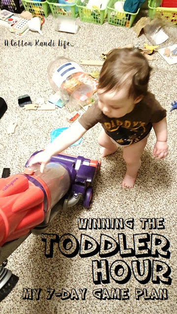 How to win the Toddler Hour every day of the week. My 7-Day Game Plan for the time of day when my toddlers are at their worst. Parenting Survival Strategies Revealed