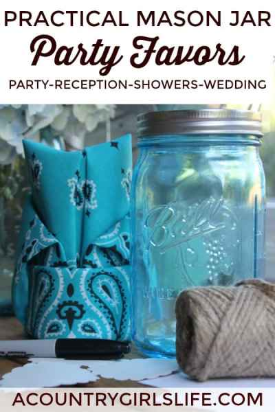 DIY: Craft Memorable Mason Jar Party Favors for Weddings, Showers & Parties