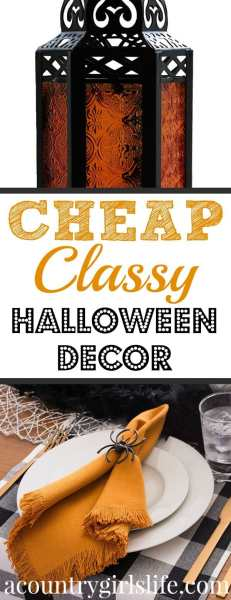 29 Unique Halloween Decorations for $15 or Less! (Most are $10 or less!)
