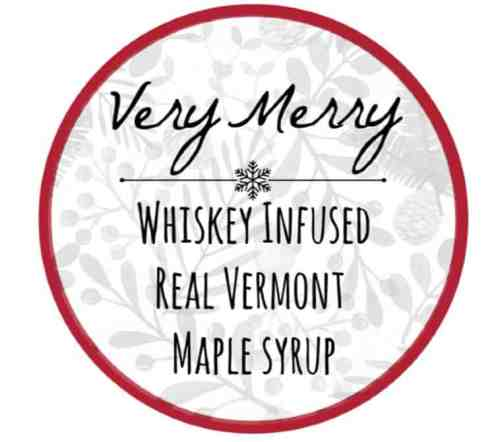 whiskey maple syrup