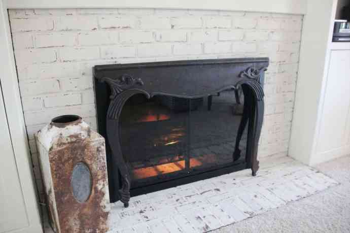 german schmear fireplace
