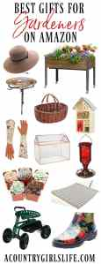Gardener Gift Guide: 51 No Fail Gift Ideas for Gardeners of all Ages