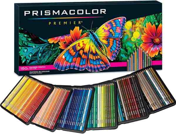 colored pencils for use with adult coloring pages