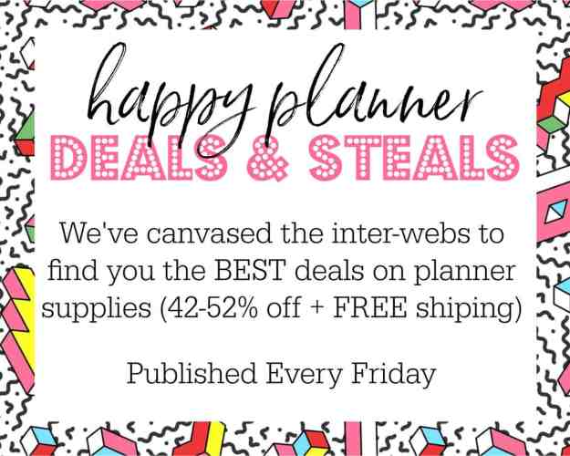 best happy planner deals