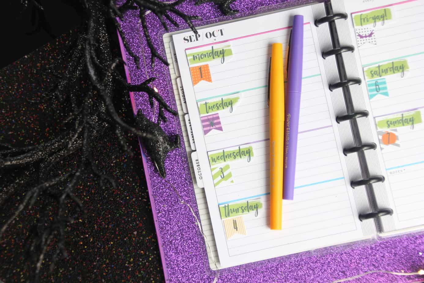 custom happy planner cover