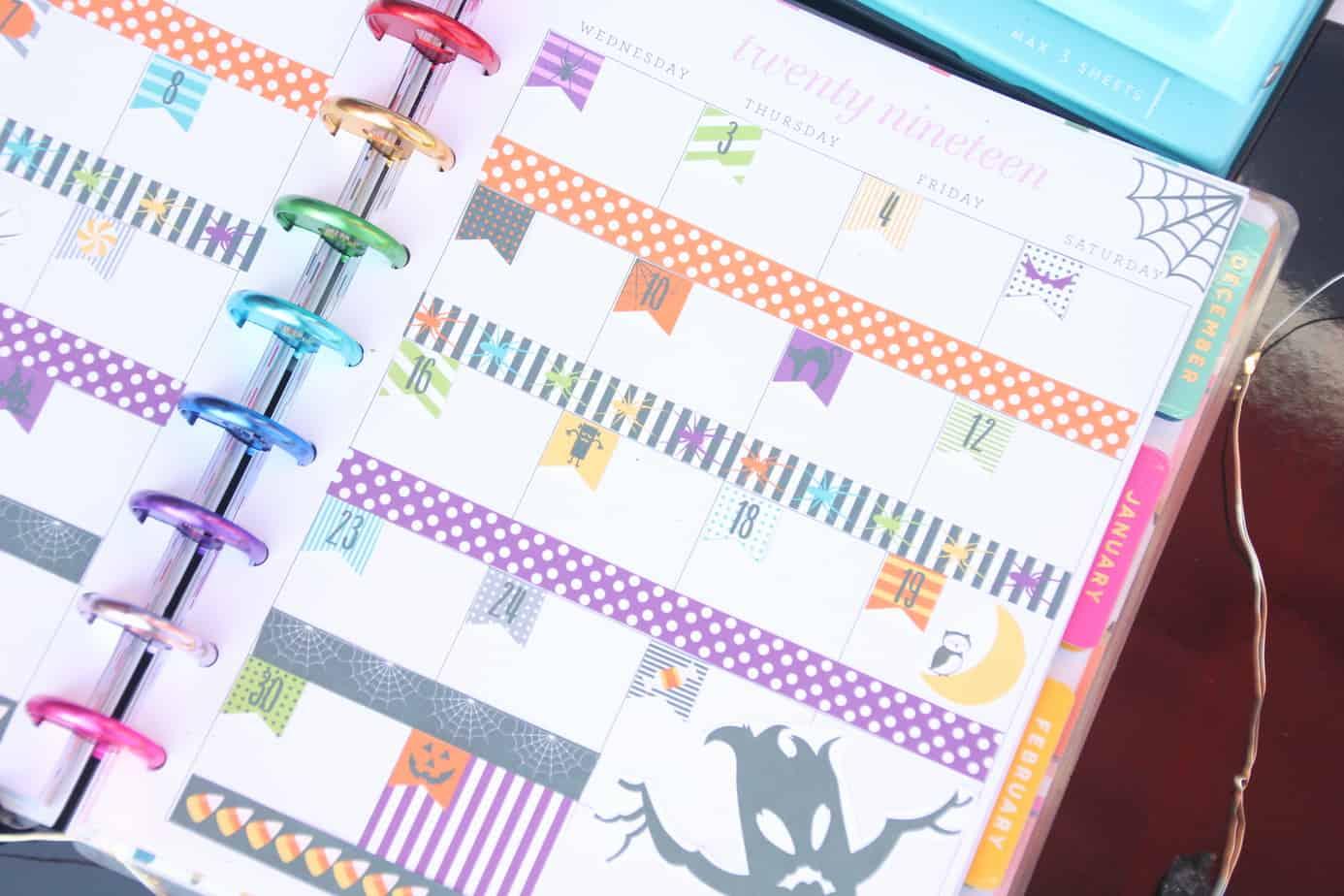 custom happy planner covers