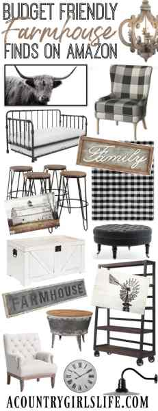 budget farmhouse home decor ideas