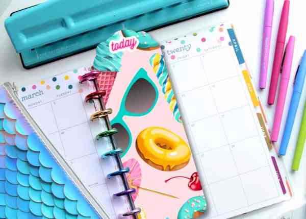 printable planner page markers