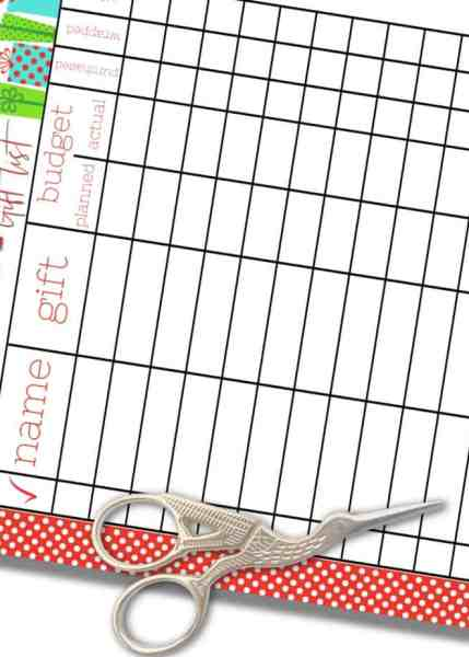 Free Printable Christmas Shopping List Planners For Budget Watchers A Country Girl S Life