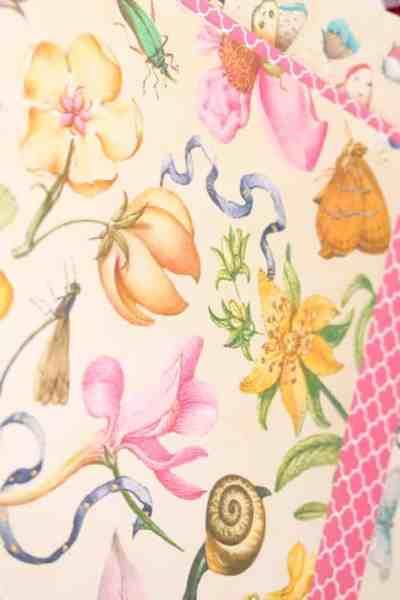free digital paper printable scrapbook paper spring summer vintage