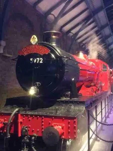 Hogwarts express at Harry Potter tour London