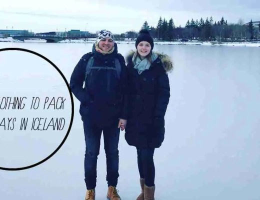 what to pack for 5 days in iceland