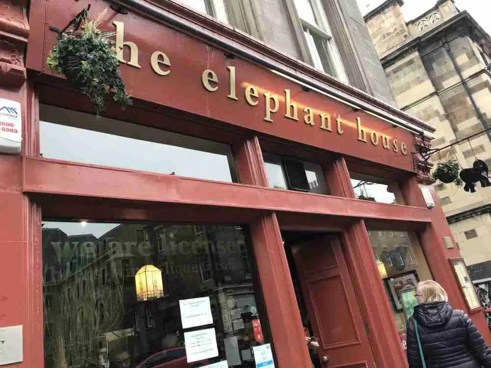 The Elephant House Cafe Edinburgh