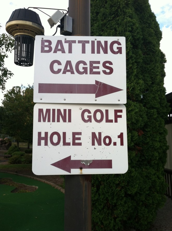 Batting Cages this way