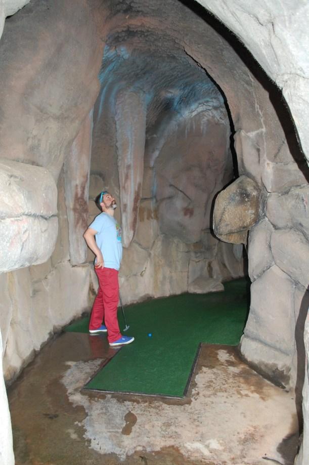 Cave dwellings.