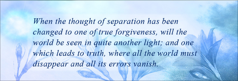 true forgiveness is illumination