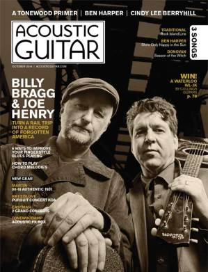Acoustic Guitar magazine October 2016 Cover