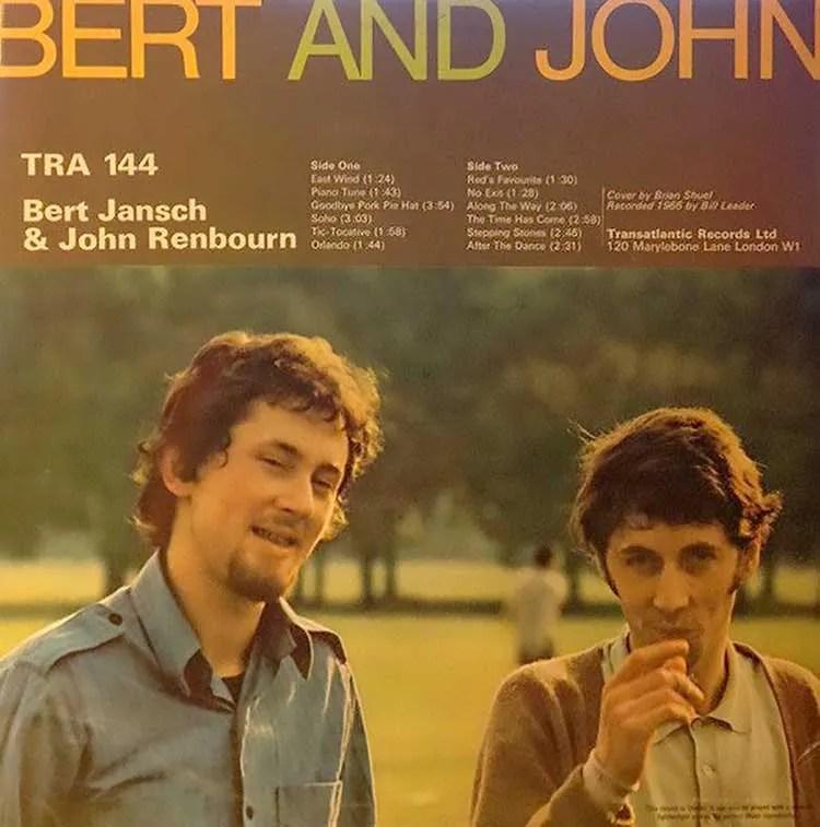 Bert and John - Bert Jansch and John Renbourn