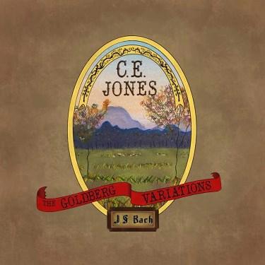 "C.E. Jones ""The Goldberg Variations"" album cover"