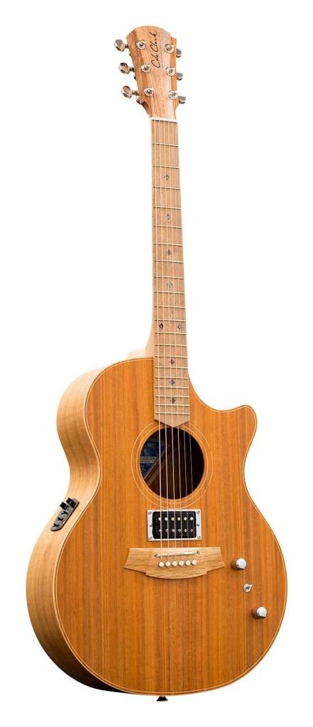 cole clark angel acoustic guitar front